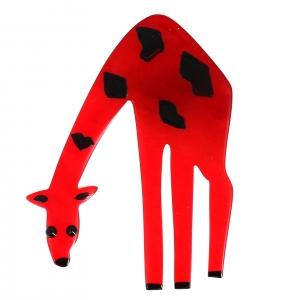 girafe rouge