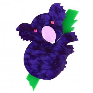 koala violet pommele