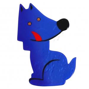 loup garou bleu klein