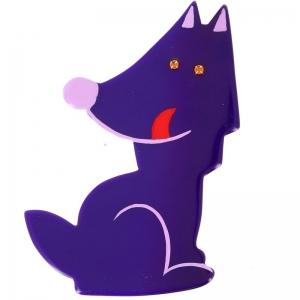 loup garou violet