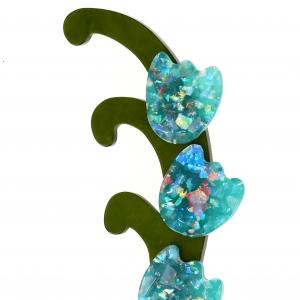 muguet turquoise brillant1