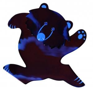 ours dansant bleu veine bleu