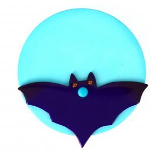 vampire lune violet turquoise