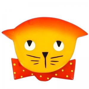 chat papillon jaune rouge pois 800x800 1