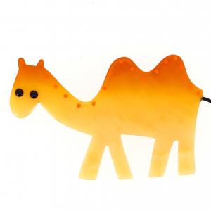 Yellow Camel Brooch